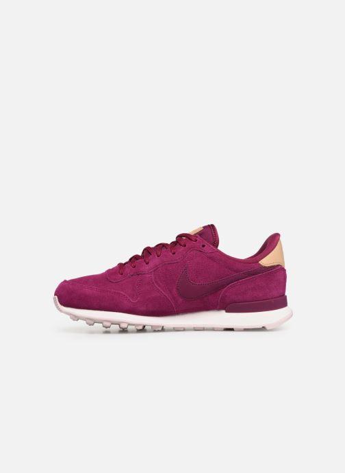 Sneakers Nike W Internationalist Prm Roze voorkant