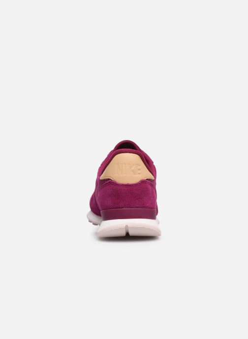 Trainers Nike W Internationalist Prm Pink view from the right