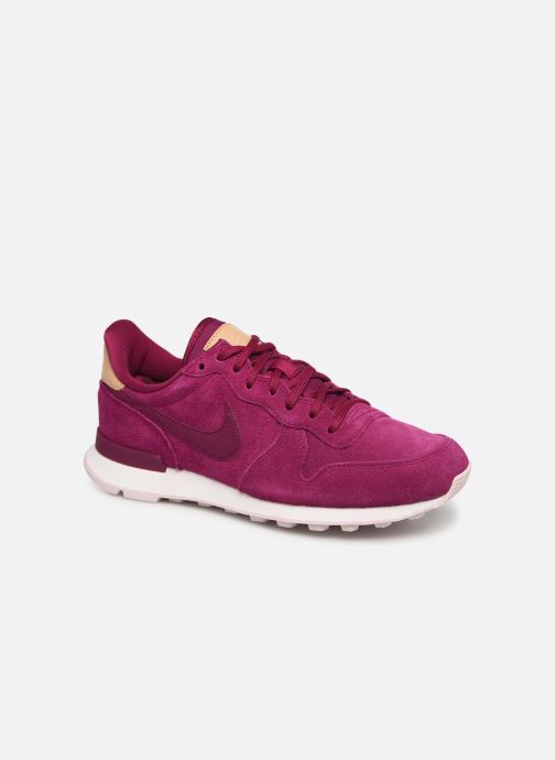 Trainers Nike W Internationalist Prm Pink detailed view/ Pair view