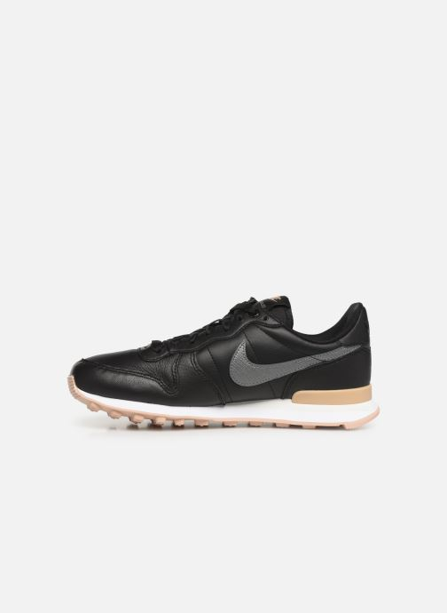 Deportivas Nike W Internationalist Prm Negro vista de frente