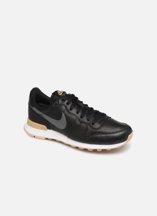 Trainers Nike W Internationalist Prm Black detailed view/ Pair view