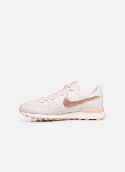Sneakers Nike W Internationalist Prm Pink se forfra