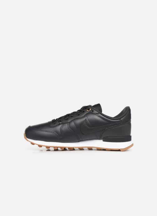 Sneaker Nike W Internationalist Prm schwarz ansicht von vorne