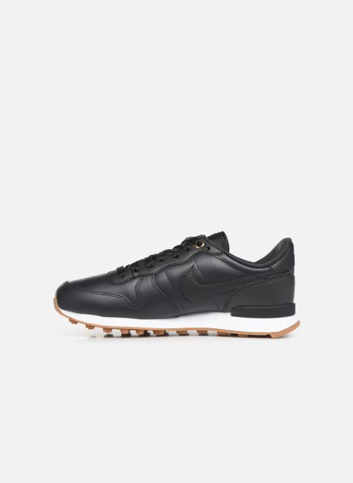 Sneakers Nike W Internationalist Prm Zwart voorkant
