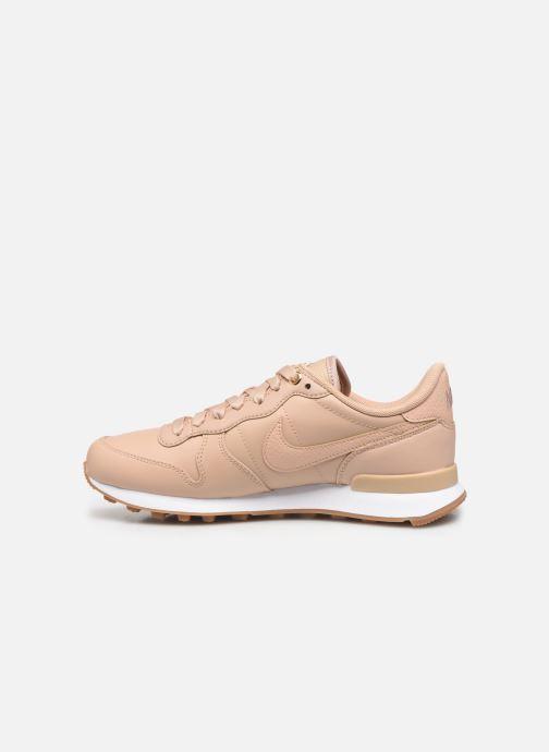 Sneakers Nike W Internationalist Prm Beige voorkant