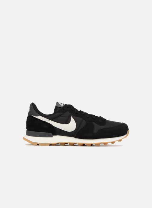 Sneaker Nike Wmns Internationalist schwarz ansicht von hinten