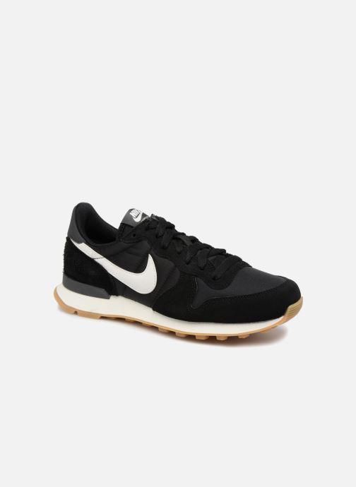Sneakers Nike Wmns Internationalist Zwart detail
