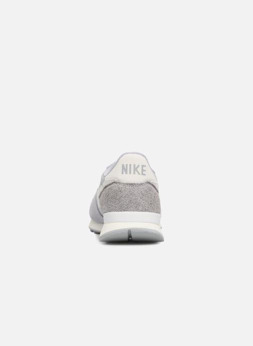 Deportivas Nike Wmns Internationalist Gris vista lateral derecha