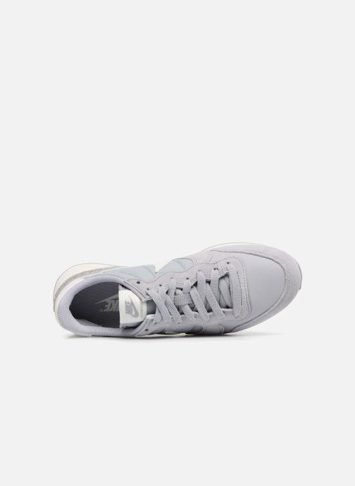 Sneaker Nike Wmns Internationalist grau ansicht von links