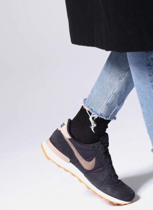 Sneakers Nike Wmns Internationalist Bianco immagine dal basso