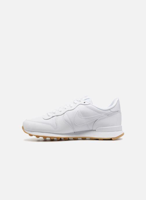 Sneaker Nike Wmns Internationalist weiß ansicht von vorne