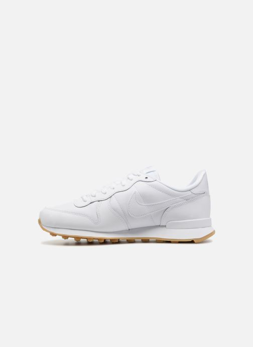 Deportivas Nike Wmns Internationalist Blanco vista de frente