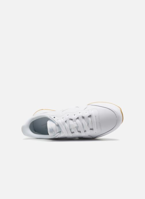 Deportivas Nike Wmns Internationalist Blanco vista lateral izquierda