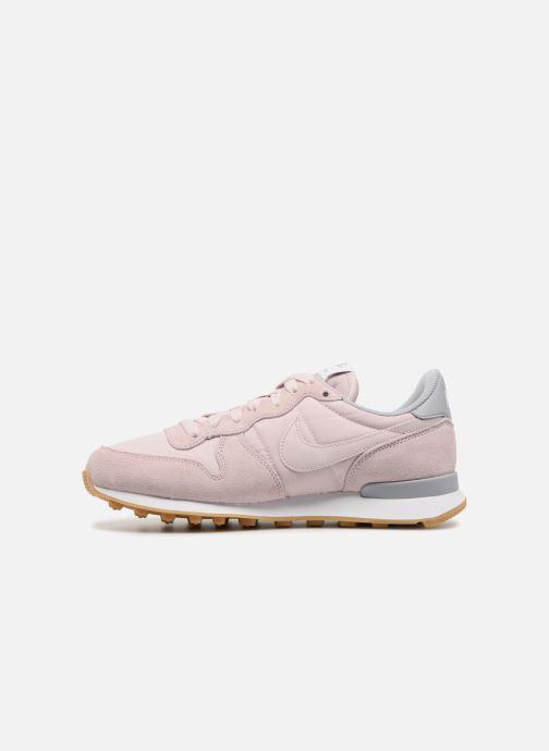 Sneaker Nike Wmns Internationalist rosa ansicht von vorne