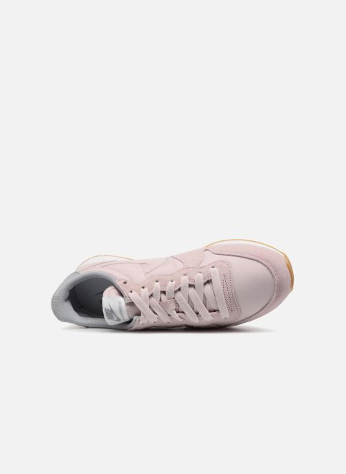 Deportivas Nike Wmns Internationalist Rosa vista lateral izquierda