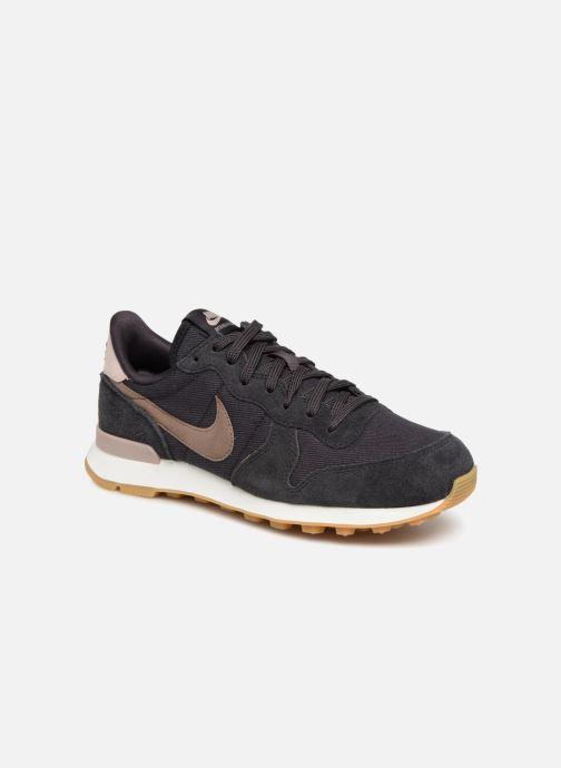 Deportivas Nike Wmns Internationalist Negro vista de detalle / par