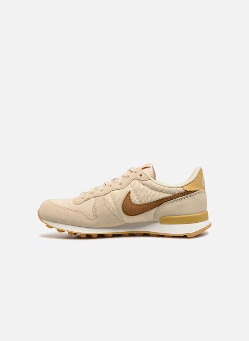 Sneaker Nike Wmns Internationalist beige ansicht von vorne