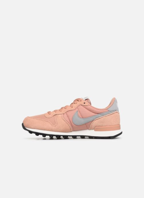 Deportivas Nike Wmns Internationalist Rosa vista de frente
