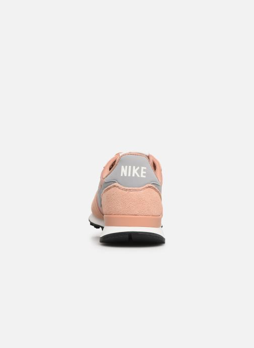 Baskets Nike Wmns Internationalist Rose vue droite