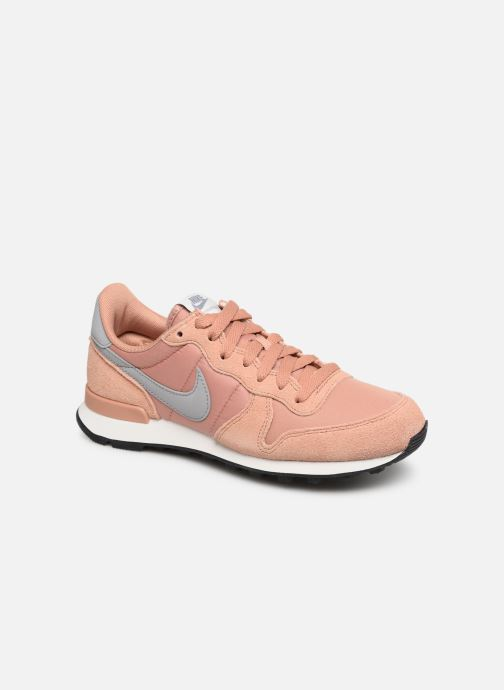 outlet store 65a45 81166 Trainers Nike Wmns Internationalist Pink detailed view  Pair view