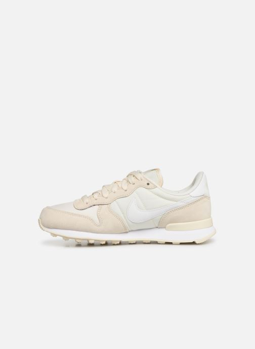 Baskets Nike Wmns Internationalist Beige vue face