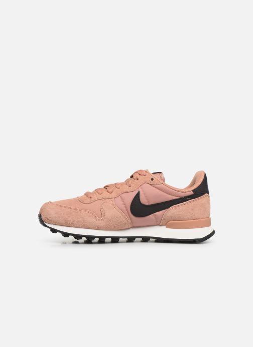 Deportivas Nike Wmns Internationalist Rosa vista de frente
