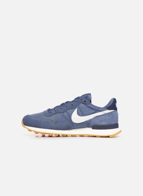 Sneakers Nike Wmns Internationalist Blå se forfra