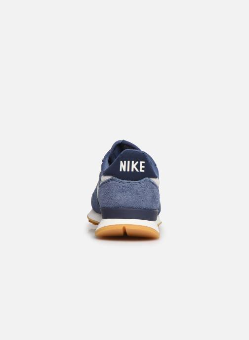 Baskets Nike Wmns Internationalist Bleu vue droite