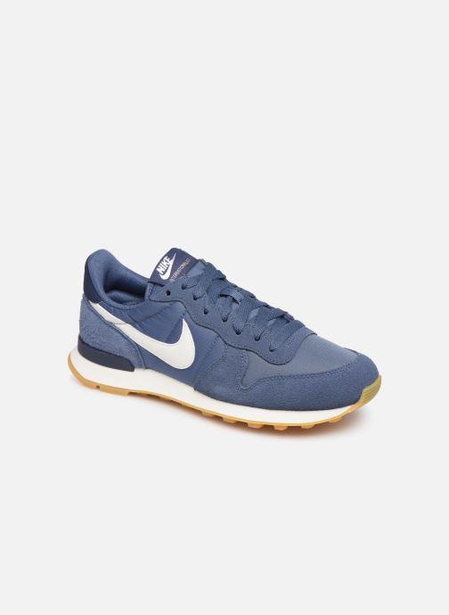 Sneakers Nike Wmns Internationalist Blå detaljeret billede af skoene