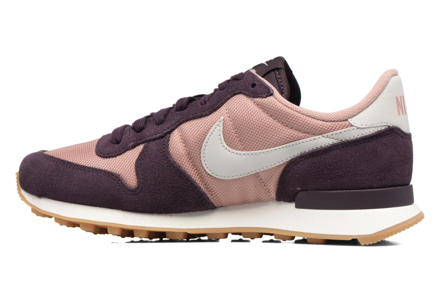 Baskets Nike Wmns Internationalist Violet vue face
