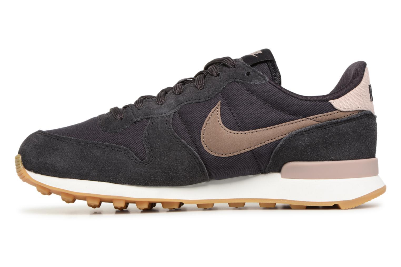 Deportivas Nike Wmns Internationalist Negro vista de frente