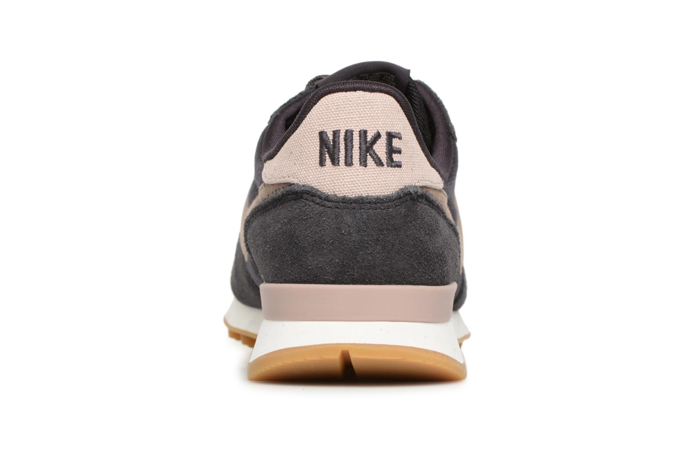 Deportivas Nike Wmns Internationalist Negro vista lateral derecha
