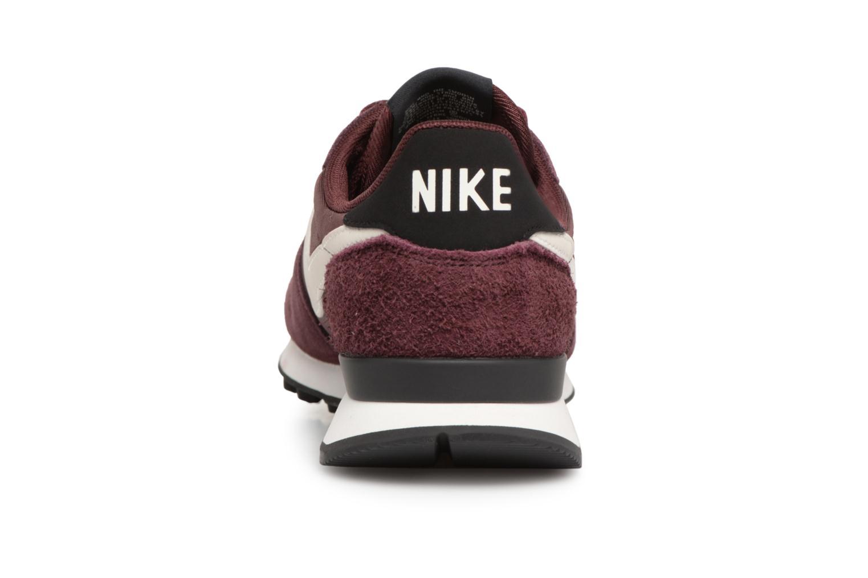 Baskets Nike Wmns Internationalist Bordeaux vue droite