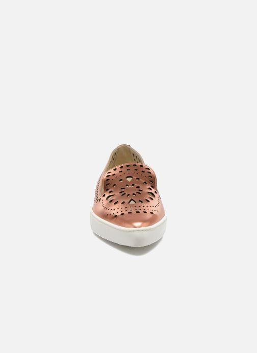 Mocassins Fabio Rusconi Lido Or et bronze vue portées chaussures