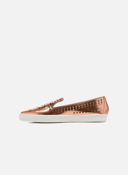 Loafers Fabio Rusconi Lido Bronze and Gold front view