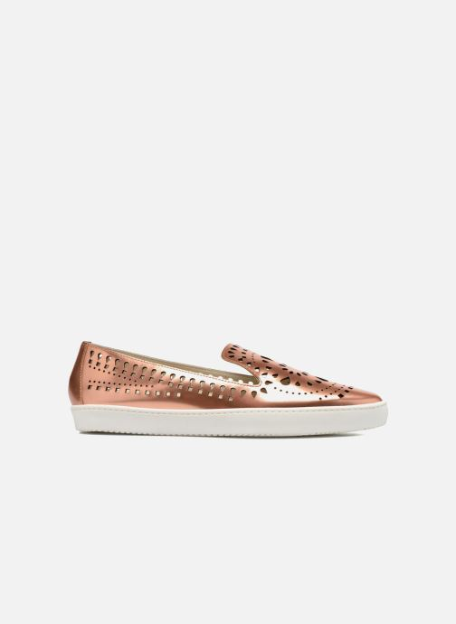 Loafers Fabio Rusconi Lido Bronze and Gold back view
