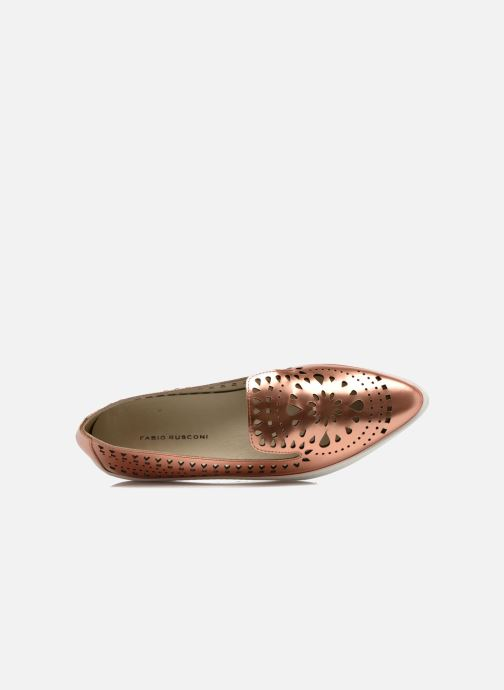 Slipper Fabio Rusconi Lido gold/bronze ansicht von links