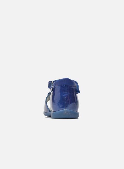 Sandales et nu-pieds Mod8 Gramy Bleu vue droite