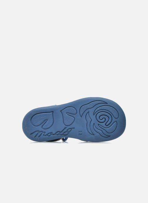Sandali e scarpe aperte Mod8 Gramy Azzurro immagine dall'alto