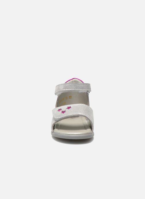 Sandalen Mod8 Garance silber schuhe getragen