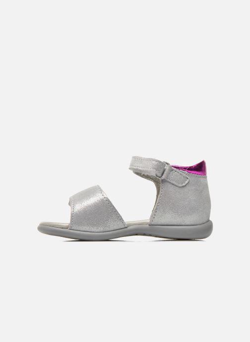 Sandales et nu-pieds Mod8 Garance Argent vue face