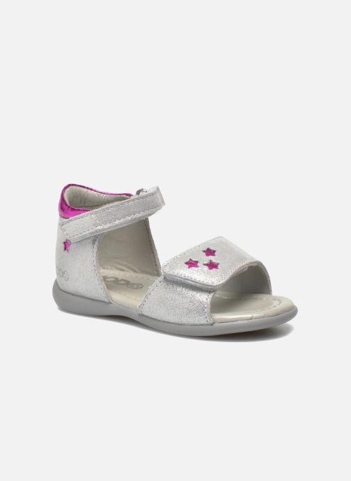Sandales et nu-pieds Mod8 Garance Argent vue détail/paire