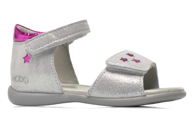 Sandales et nu-pieds Mod8 Garance Argent vue derrière