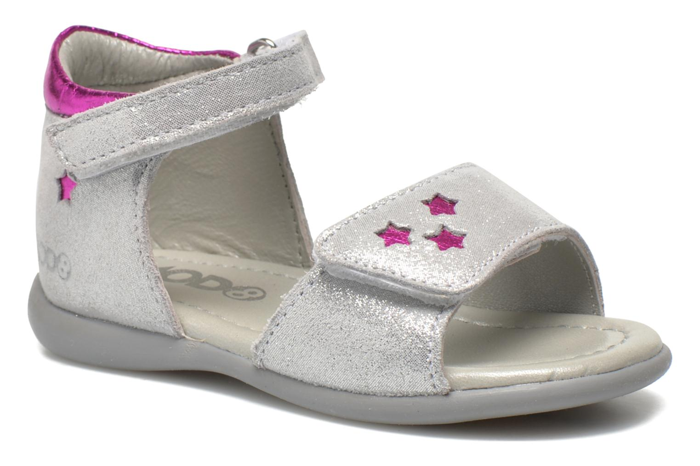 Sandaler Mod8 Garance Silver detaljerad bild på paret