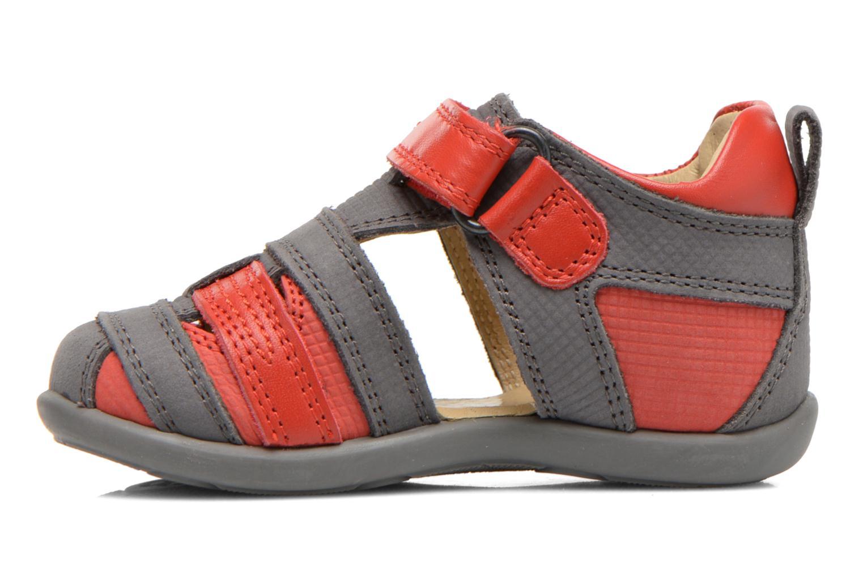 Sandales et nu-pieds Mod8 Louis Gris vue face