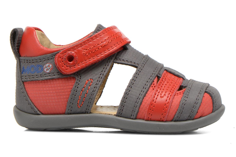 Sandales et nu-pieds Mod8 Louis Gris vue derrière