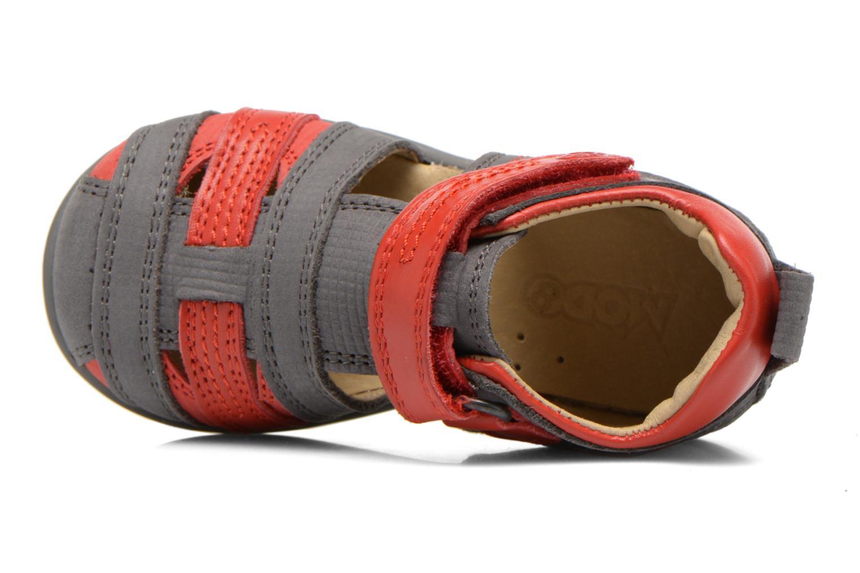 Sandales et nu-pieds Mod8 Louis Gris vue gauche