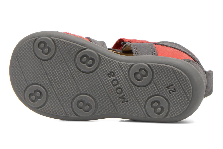 Sandales et nu-pieds Mod8 Louis Gris vue haut