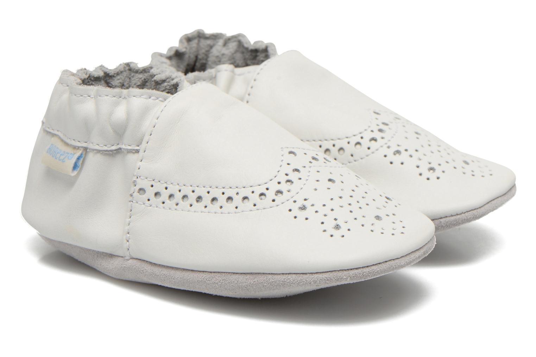 Chaussons Robeez Smart Blanc vue détail/paire
