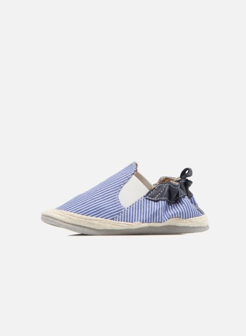 Chaussons Robeez Summer Camp Bleu vue face